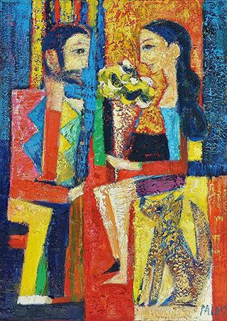 Darek Pala : Cool moments : Oil on Canvas