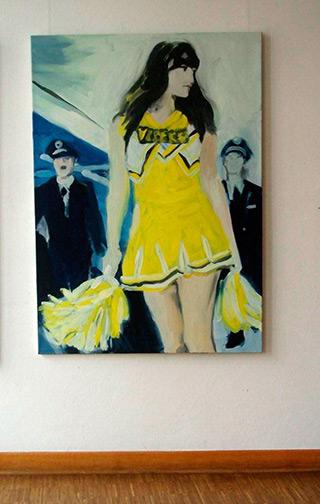 Katarzyna Swinarska : Rita : Oil on Canvas