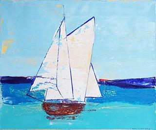 Jacek Łydżba - Sailing ship