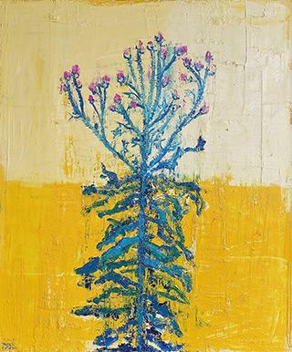 Jacek Łydżba : Thistle : Oil on Canvas