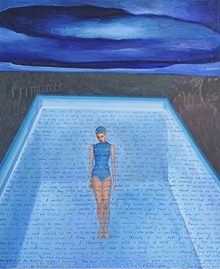 Katarzyna Karpowicz : Anesthesia : Oil on Canvas