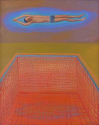 Katarzyna Karpowicz : Calm : Oil on Canvas