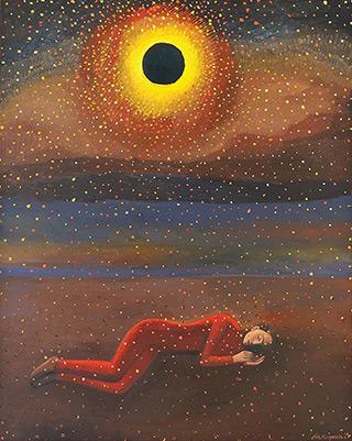 Katarzyna Karpowicz : Dream : Oil on Canvas
