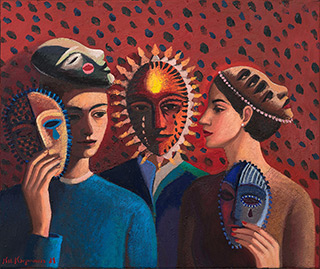 Katarzyna Karpowicz : Lost in translation : Oil on Canvas
