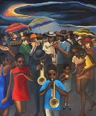 Katarzyna Karpowicz : New Orlean, Louisiana : Oil on Canvas
