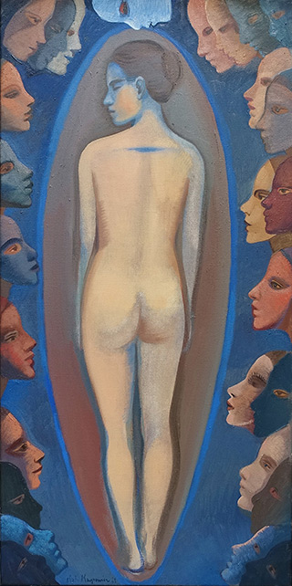 Katarzyna Karpowicz : Synesthesia : Oil on Canvas