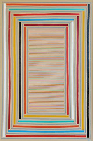 Łukasz Majcherowicz : Good evening! : Acrylic and oil on canvas