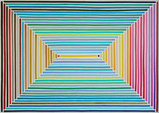 Łukasz Majcherowicz : Heaven and Earth : Acrylic and oil on canvas