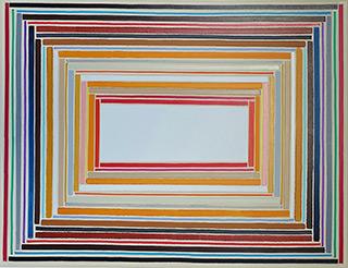 Łukasz Majcherowicz : Porta Magna : Acrylic and oil on canvas