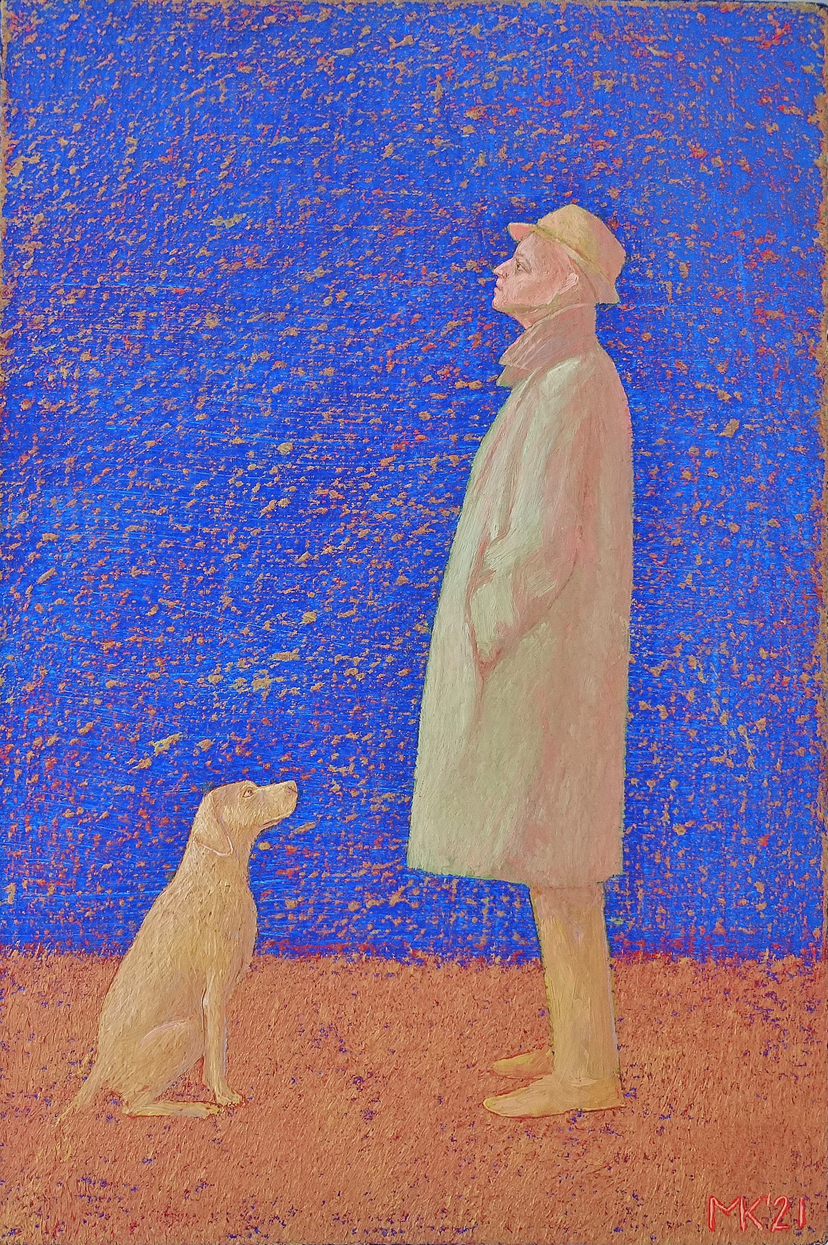 Mikołaj Kasprzyk : With a dog