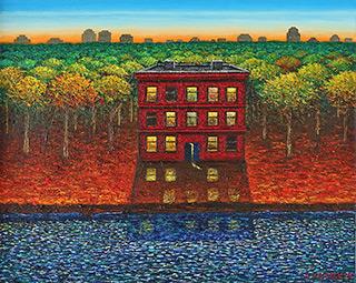 Adam Patrzyk - House on the river