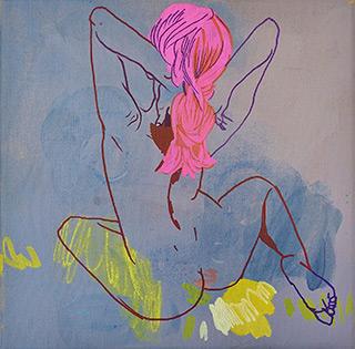 Agnieszka Sandomierz - Pink braid