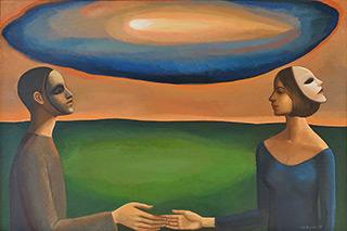 Katarzyna Karpowicz : Trust : Oil on Canvas