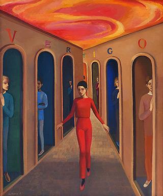 Katarzyna Karpowicz : Vertigo II : Oil on Canvas