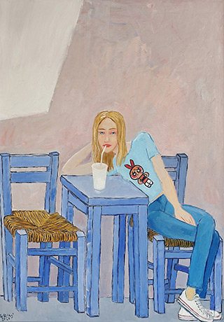 Krzysztof Kokoryn : Straw : Oil on Canvas