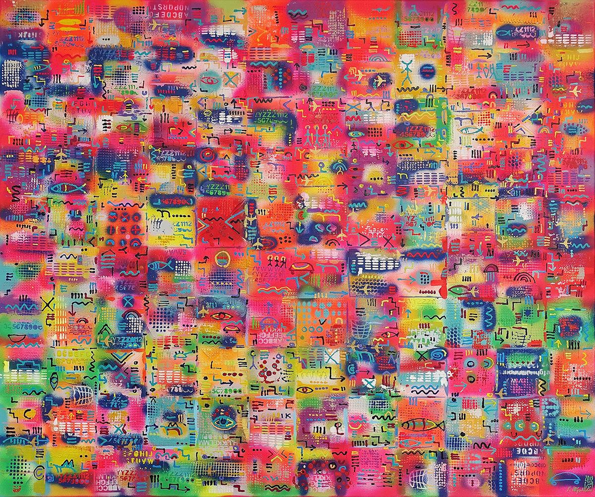 Krzysztof Pająk - Color melange