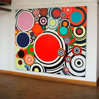 Małgorzata Jastrzębska : Paintings 236 & 237 : Oil on Canvas