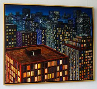 Adam Patrzyk : Insomnia : Oil on Canvas
