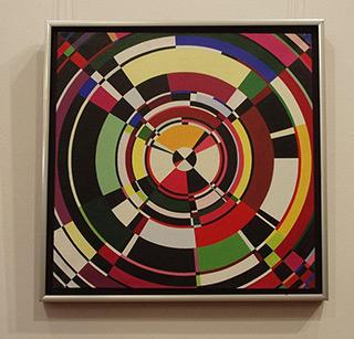 Małgorzata Jastrzębska : Circles : Oil on Canvas