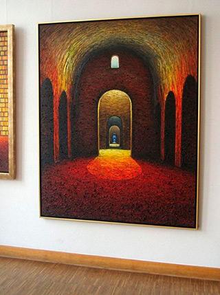 Adam Patrzyk : Cellar : Oil on Canvas