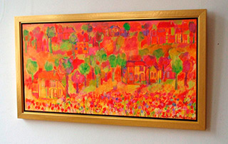Beata Murawska : Lanscape : Oil on Canvas