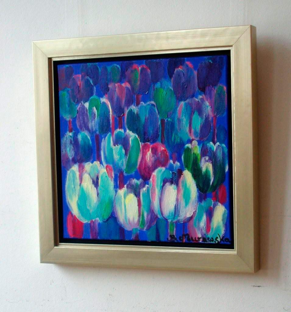 Beata Murawska : Blue tulips