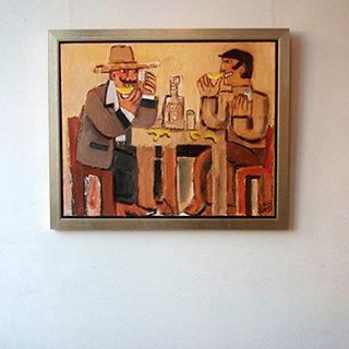 Krzysztof Kokoryn : Tequila : Oil on Canvas