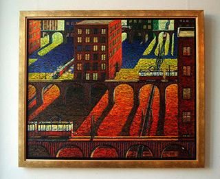 Adam Patrzyk : Metropolis : Oil on Canvas