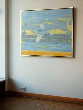 Jacek Łydżba : Mustang : Oil on Canvas