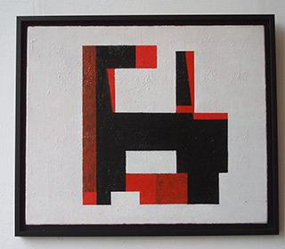 Radek Zielonka : Black white : Acrylic on Canvas