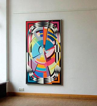 Małgorzata Jastrzębska : Painting no. 157 : Oil on Canvas