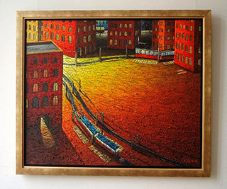 Adam Patrzyk : Changing : Oil on Canvas