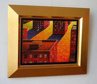 Adam Patrzyk : Buildings : Oil on Canvas