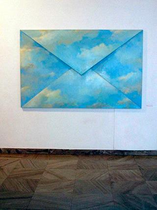 Dariusz Mlącki : Clouds : Acrylic on canvas