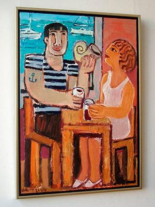 Krzysztof Kokoryn : Shell : Oil on Canvas