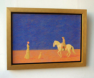 Mikołaj Kasprzyk : Ride : Oil on Canvas