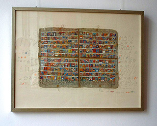 Jolanta Wagner : Calendar of the most beautiful days : Ink on wove paper