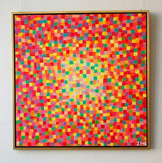 Zofia Matuszczyk-Cygańska : Flaming : Oil on Canvas