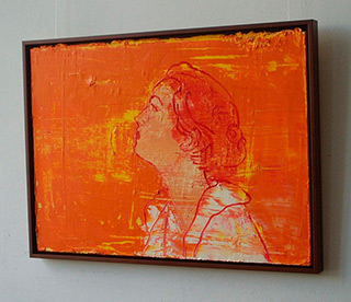 Jacek Łydżba : Orange dreams : Oil on Canvas