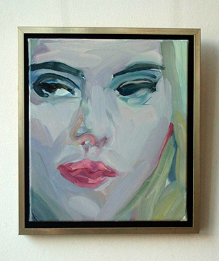 Katarzyna Swinarska : Scarlett : Oil on Canvas