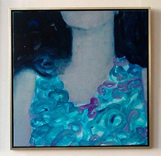 Katarzyna Swinarska : Summer dress : Oil on Canvas