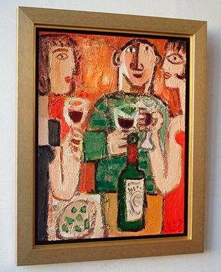 Krzysztof Kokoryn : Party : Oil on Canvas