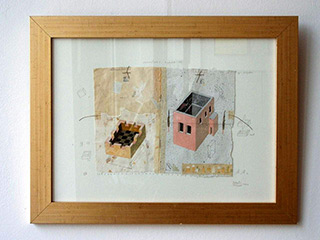 Jolanta Wagner : Inventory of the house 10 : Ink on wove paper