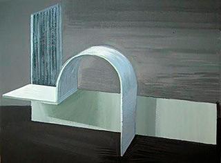 Maria Kiesner : Kobro : Tempera on canvas