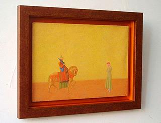 Mikołaj Kasprzyk : Farewell : Oil on Canvas