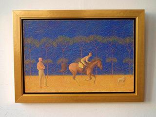 Mikołaj Kasprzyk : Race : Oil on Canvas