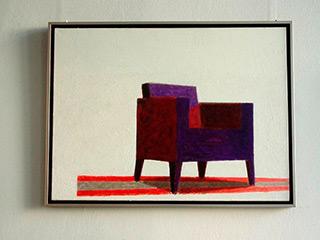 Radek Zielonka : Chair : Oil on Canvas