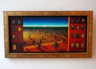 Adam Patrzyk : Road : Oil on Canvas