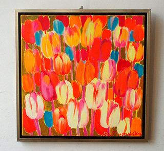 Beata Murawska : Beautiful day : Oil on Canvas