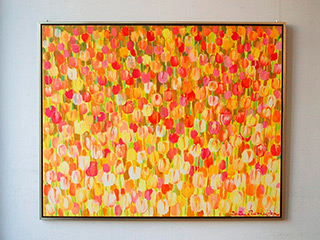 Beata Murawska : Colors of fall : Oil on Canvas
